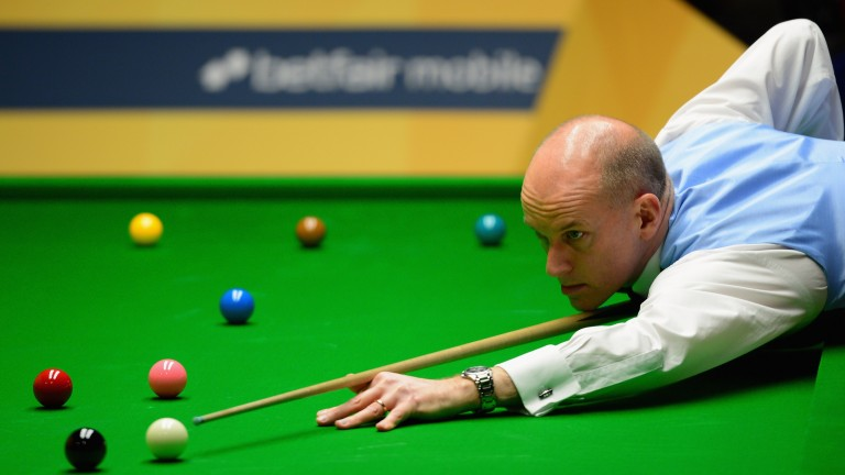 Peter Ebdon could enjoy himself in Germany