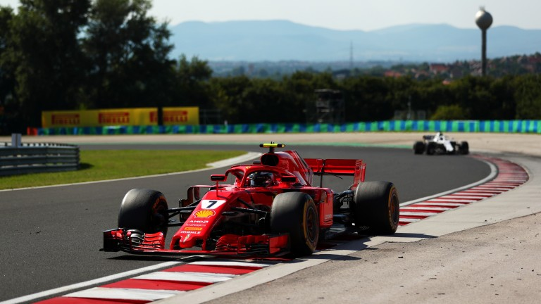 Kimi Raikkonen scored his fifth consecutive podium finish in Hungary
