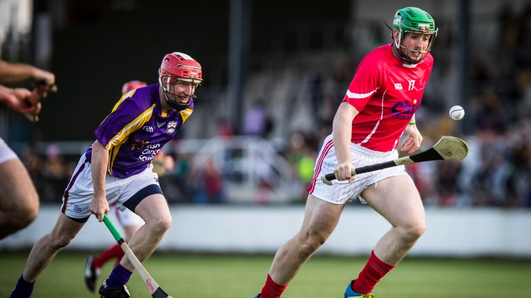 Shane Dowling in action at Hurling For Cancer 2017