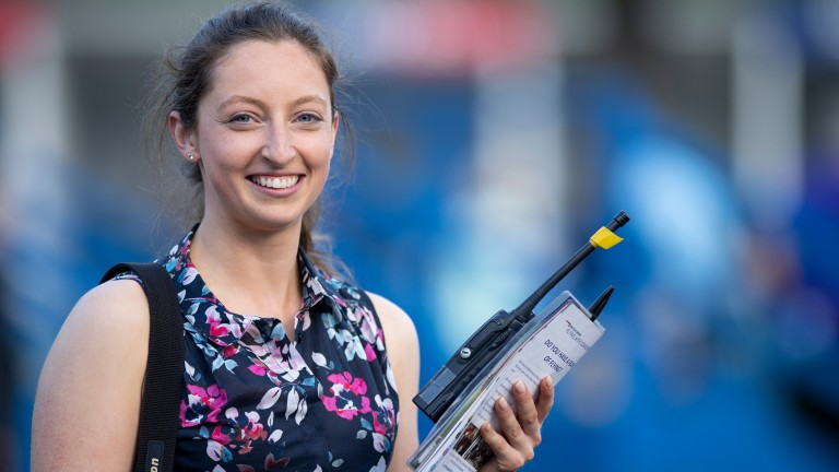 Eloise Quayle: new clerk of the course at Windsor
