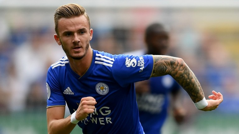 Leicester starlet James Maddison