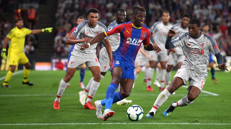 Palace put in a decent performance in defeat to Liverpool
