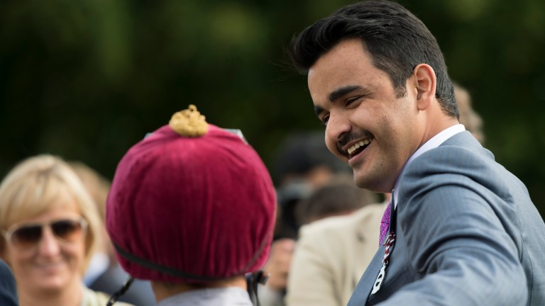 Sheikh Joaan, co-owner of Al Shaqab Racing, is 32