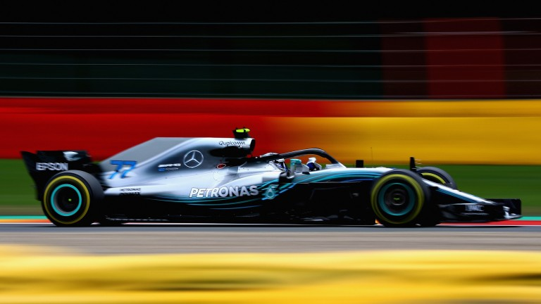 Valtteri Bottas in action at Spa