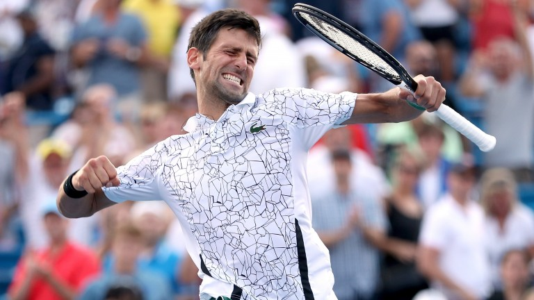 Novak Djokovic dominated Roger Federer in the Cincinnati Masters final