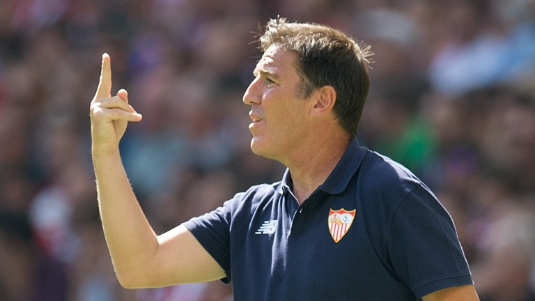 Former Sevilla manager Eduardo Berizzo is in charge at Athletic Bilbao