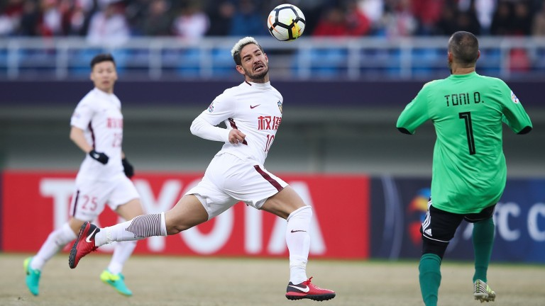 Alexandre Pato has been in prolific goalscoring form for Tianjin Quanjian