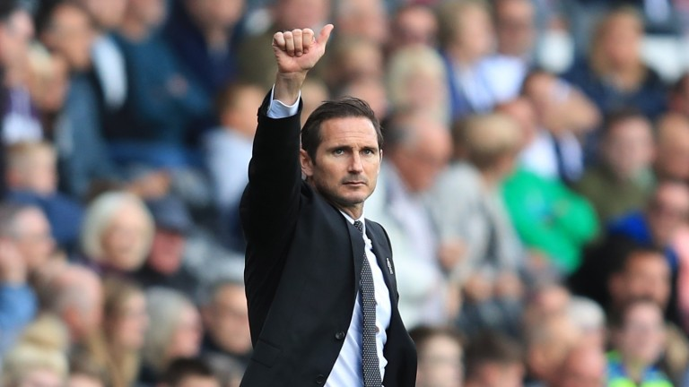 Frank Lampard got a good response against Sheffield Wednesday to Derby's home loss to Aston Villa before the international break