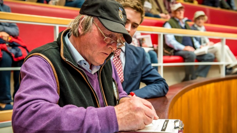 Bobby O'Ryan paid £46,000 for Gabrial at Doncaster back in 2009