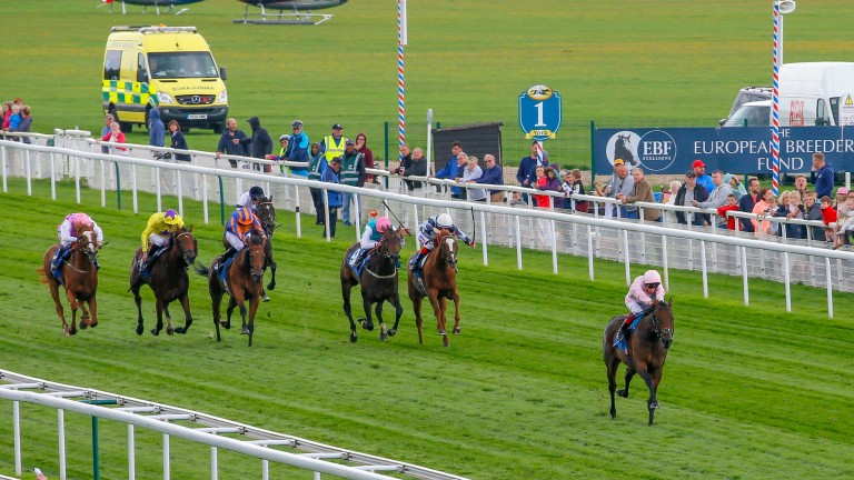 Lah Ti Dar demolishes the opposition in York's Galtres Stakes