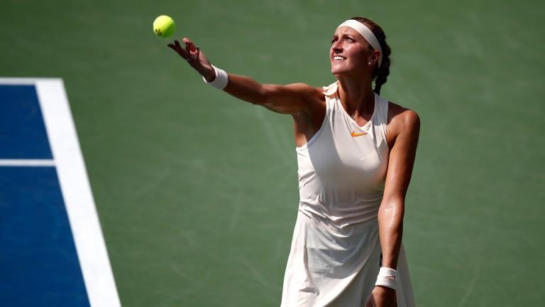 Petra Kvitova made a positive start to the final Grand Slam of the season