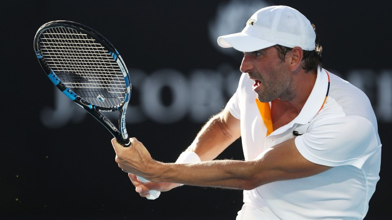 Julien Benneteau remains a fine match-player in Grand Slams and could surprise younger opponent Jan-Lennard Struff