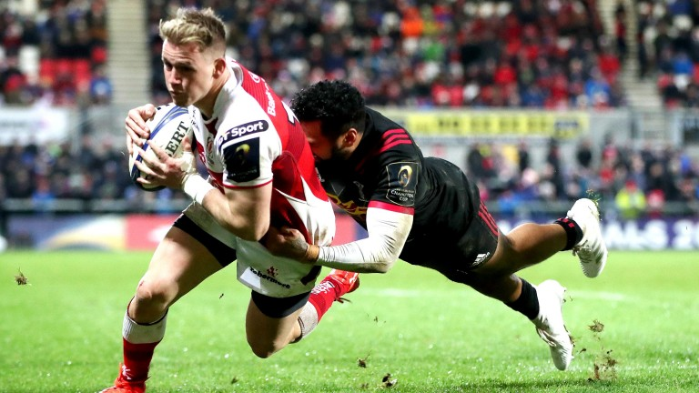Ulster winger Craig Gilroy has shown what a dangerous finisher he is