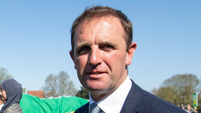 Charlie Appleby: looking forward to getting Ghaiyyath on the track
