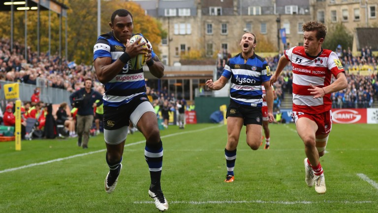 Bath winger Semesa Rokoduguni is a fans' favourite at the Rec