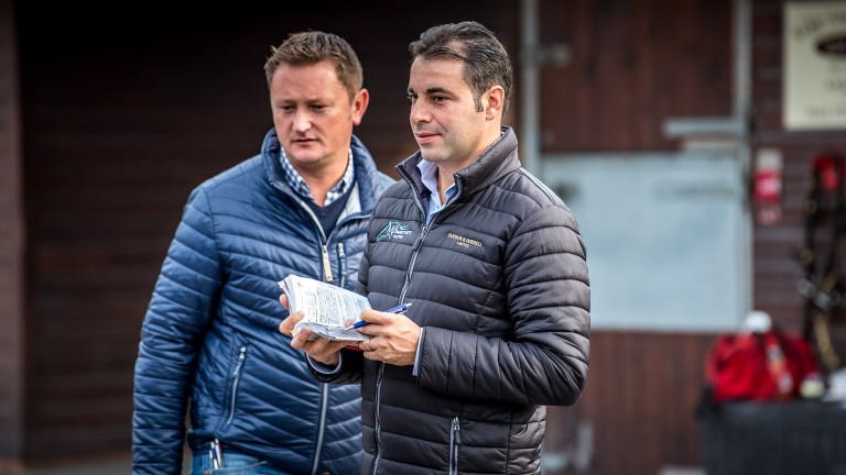 Bloodstock agent Jamie Lloyd and trainer Marco Botti join forces