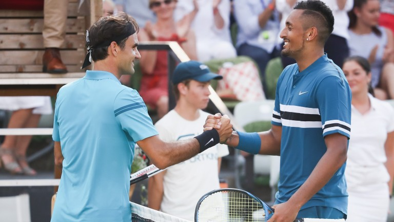 Roger Federer and Nick Kyrgios renew their rivalry at the US Open