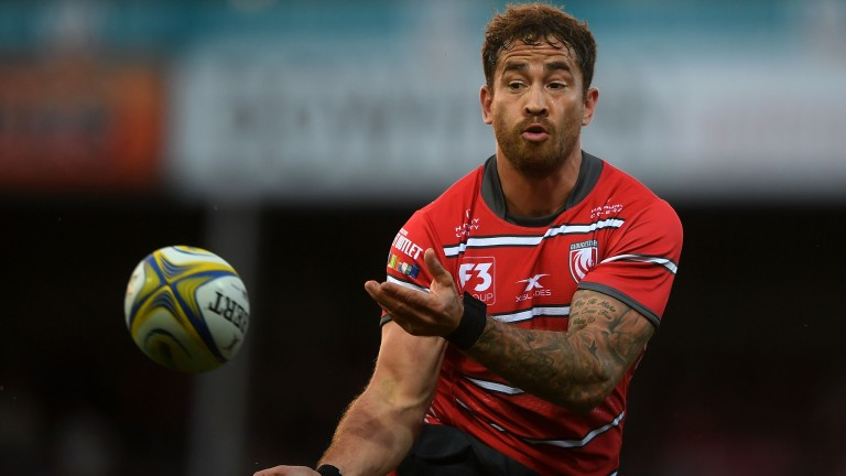 New Gloucester fly-half Danny Cipriani