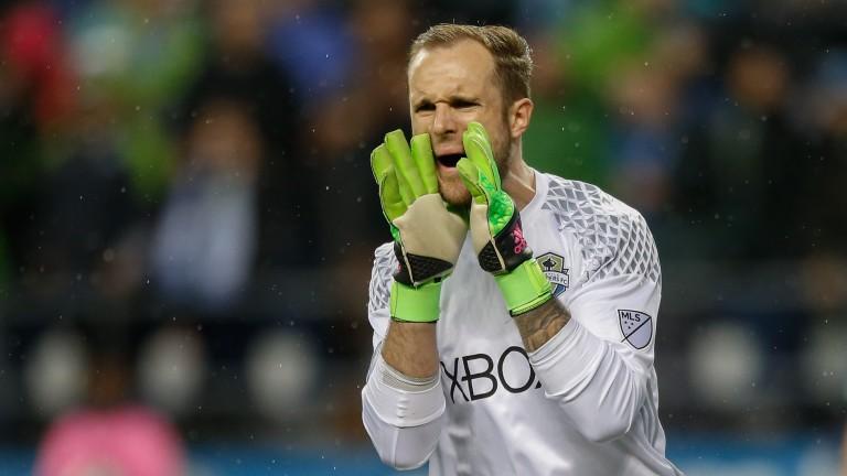 Seattle goalkeeper Stefan Frei