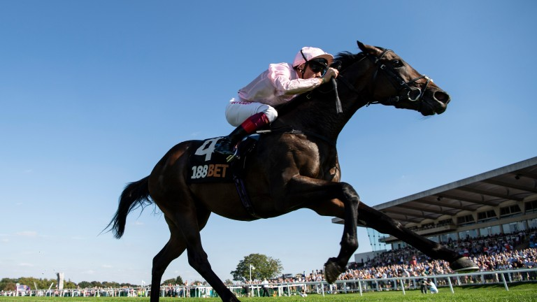 Too Darn Hot lands the Solario Stakes under Frankie Dettori