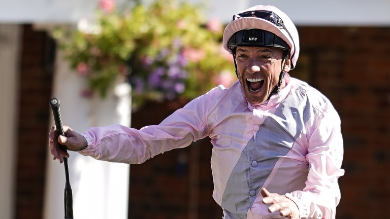 Frankie Dettori's Dewhurst ride Too Darn Hot is the star attraction at Newmarket