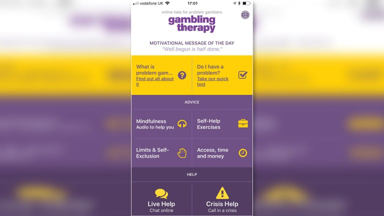The Gambling Therapy app provides a particularly helpful pathway to beating addiction