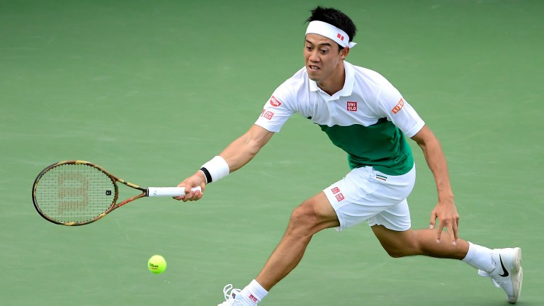 Japanese number one Kei Nishikori looks in good nick in the Big Apple this year