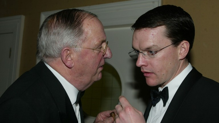 Stan Cosgrove (pictured with Aidan O'Brien): 91 today
