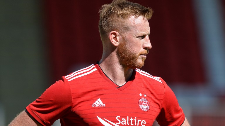 Striker Adam Rooney joined Salford from Aberdeen in the summer