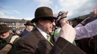 Rich Ricci: one of Ireland's biggest owners, whose string is in the care of champion trainer Willie Mullins