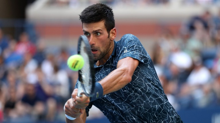 Novak Djokovic is expected to be the dominant force in his clash with John Millman