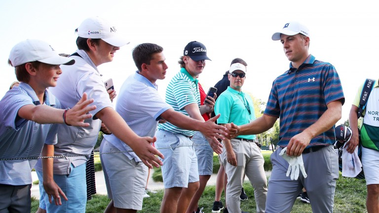 Jordan Spieth is fresh from missing the Tour Championship