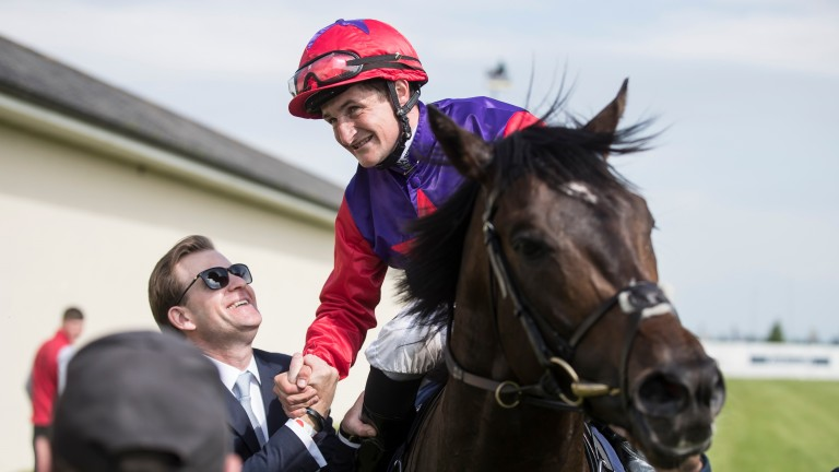 Romanised: warmed up for Newbury by running at Naas