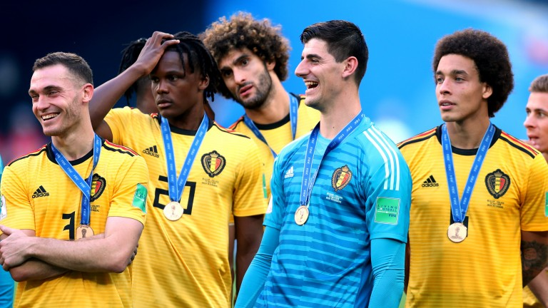 Belgium finished third at the World Cup