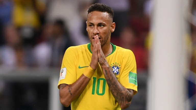 Brazilian superstar Neymar