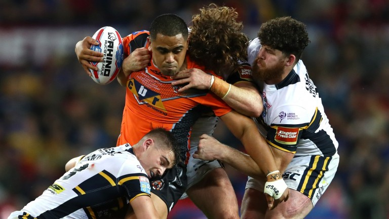 Castleford's Junior Moors in action during last year's Grand Final