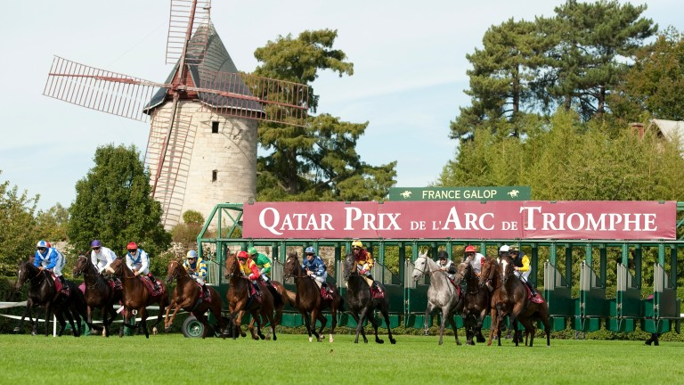 The action from Longchamp will be shown on Sky Sports Racing next year