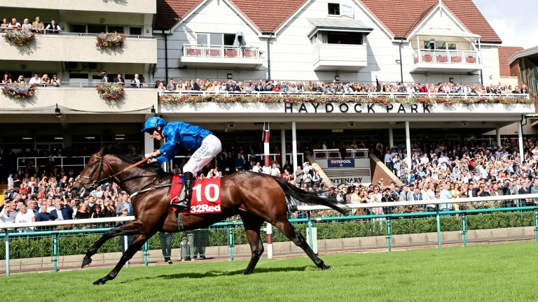 Harry Angel and Adam Kirby overcome worries about the testing ground to win the 2017 Sprint Cup