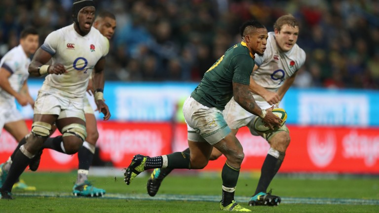 Fly-half Elton Jantjies starts for South Africa