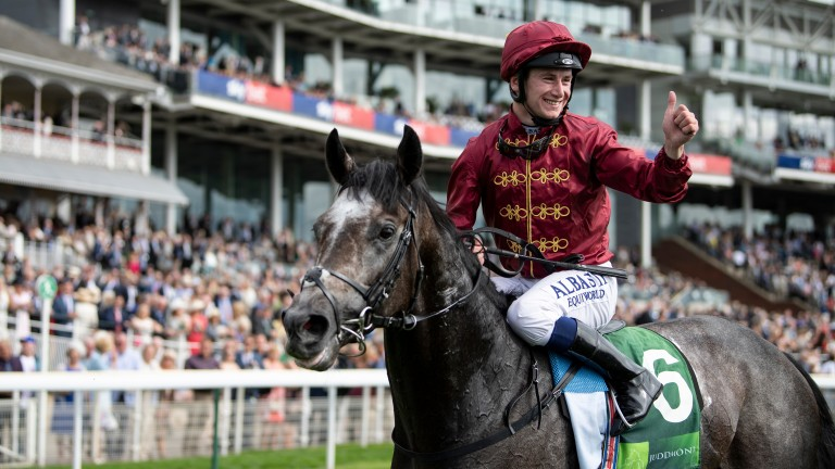 Oisin Murphy: in exceptional form since winning the Juddmonte International with Roaring Lion