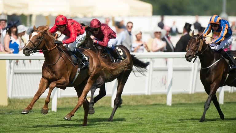 Balios lands the King Edward VII Stakes at Royal Ascot