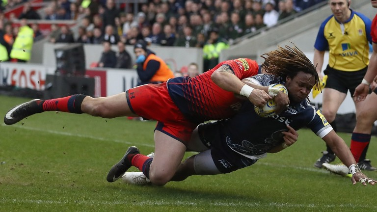 Sale scored eight tries in last season's home rout of Worcester