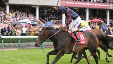 THE TIN MAN and Oisin Murphy win the 32 Red Sprint Cup for trainer James Fanshaw win at Haydock Park  8/9/18Photograph by Grossick Racing Photography 0771 046 1723