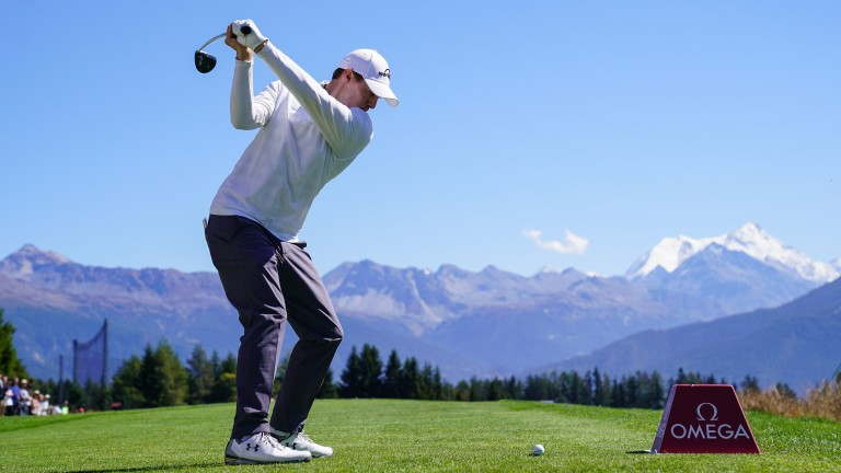 Matthew Fitzpatrick successfully defended his European Masters title in September