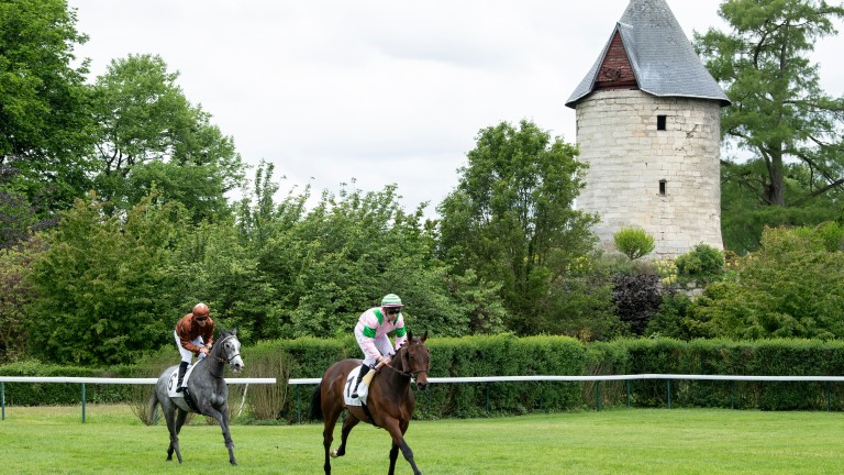 Longchamp which hosts the feature Prix du Moulin de Longchamp, named after its iconic windmill pictured without its sails this year