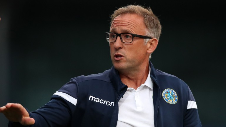 Macclesfield manager Mark Yates
