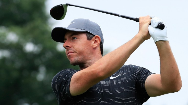 Rory McIlroy is one back in Pennsylvania