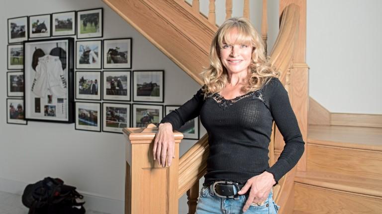 Gee Bradburne: the Cheltenham Festival-winning former rider is 53