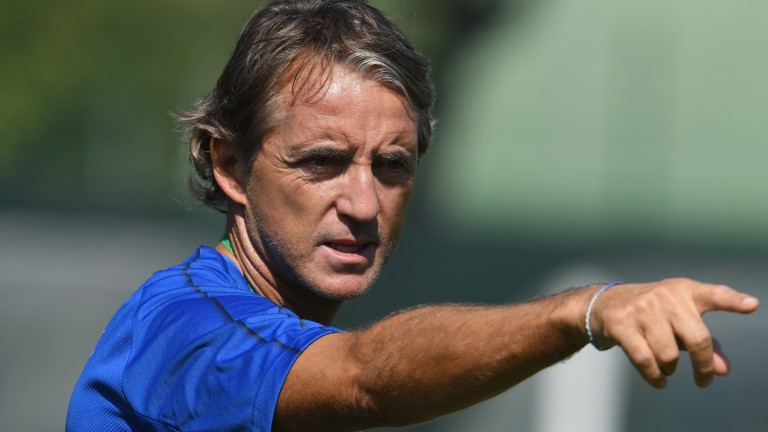 Roberto Mancini's Italy are on the back foot