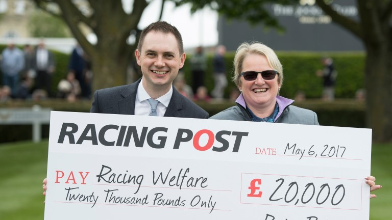 Lee Mottershead (left) aiming to generate funds for charity Pic: Edward Whitaker
